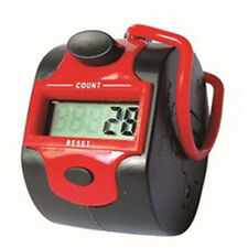 Portable Tally Counter Clicker 5Digit Number Handheld Manual Digital Counter FA1