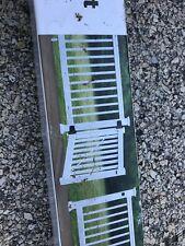 Fiberon Homeselect White Composite Deck Railing Gate Frame Kit