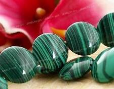 """12mm Colorful Green Malachite Tuequoise Coin Gemstone Loose Beads 15"""""""