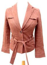 01b4a100 Zara Blazer Coats, Jackets & Waistcoats Linen Outer Shell for Women ...