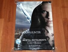 ORIGINAL MOVIE POSTER THE MORTAL INSTRUMENTS CITY OF BONES 2013 UNFOLDED ONE SHE