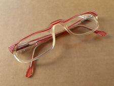 Occhiali retrò vintage per adulti, Red & White Stripes. nel complesso buone con alcuni segni di usura