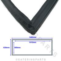 POLAR AB814 UPRIGHT FRIDGE REFRIGERATION DOOR GASKET G592 GN600TN 1460mm x 630mm