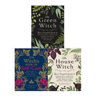 Arin Murphy Hiscock 3 Books Collection Set Green Witch, Witchs Book of Self Care