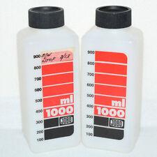 2x Jobo 1000ml 1L Film Developing Reversal Processing Chemistry Bottles Cpe/Cpp