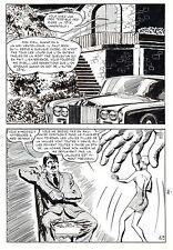 LE VENTRILOQUE DE L'AU DELA (PLEYERS) PLANCHE ORIGINALE PAGE 48