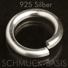 925 Silber Ringwindung / Ringrohling; 18,4 mm
