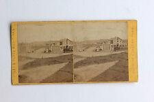 BIARRITZ Villa Eugénie stéréo par J. Andrieu Papier albuminé Vintage ca 1875
