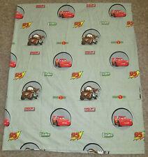 Disney Pixar Cars Kids Flat Gray Bed Sheet Double Size Lightning McQueen & Mater