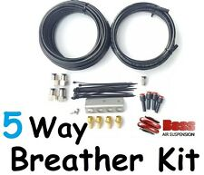 BOSS 5 Way Diff Breather Kit to suit all Nissan Navara D40