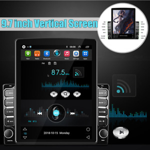 "HD 9.7"" Vertical Screen Car MP5 Player Android 8.1 GPS Mirror Link Radio Stereo"