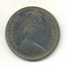 GREAT BRITAIN 2 NEW PENCE 1971