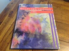 Valley View Jr High Yearbook 1991 Valhalla Clean Copy No Writing