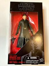 "First Order General Hux 6"" The Black Series STAR WARS #13 Hasbro MIB"