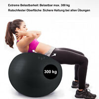 Rutschfest Physioball mit Luftpumpe Büro 85cm Robuster Gymnastikball bis 300kg