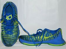 Nike Zoom Kd Youth Sz 7 Blue/Green Shoes Preowned