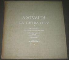 VIVALDI La Cetra Op. 9 BARCHET / REINHARDT  VOX DL 203 3 LP Box RARE