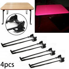 4PCS Metal Black Table Legs Iron Hairpin Kitchen Coffee Bench Stool Table Leg