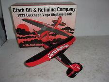 Liberty Classics 1932 Lockheed Vega Airplane Bank - Clark Oil & Refining Company
