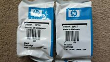 Genuine HP 56 Black & HP 57 Tri-Colour ink cartridges (C6656A + C6657A)