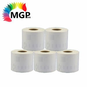 5x Rolls of Quality 11354 label 57mm x 32mm/1000 Per Roll for Dymo labelWrite