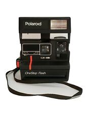 Vintage VTG POLAROID One Step Flash Instant 600 Film Camera Great Pictures