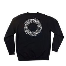 Santa Cruz Ogsc Team Rider Long Sleeve Skateboard Fleece Crew Black Xxl