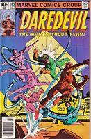 DAREDEVIL#165 FN/VF 1980 FRANK MILLER MARVEL BRONZE AGE COMICS