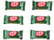 Nestle Kit Kat Green Tea Matcha Maccha Favor Crunchy Chocolate - 6 packs JAPAN