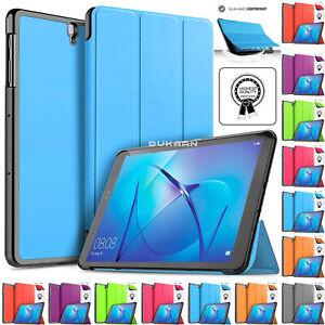"Magnetic Smart Cover Hard Shell Case For Huawei MediaPad M3 Lite 10.1"", 8.4"", 8"""