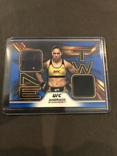 Topps Ufc Jessica Andrade 18/50 Blue One Two Relic 2020 Knockout