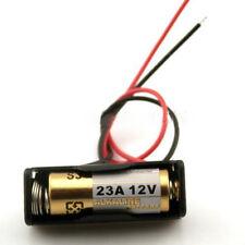 ( 2x ) A23 Portabatería de 12 V Holder Clip Caja Estuche