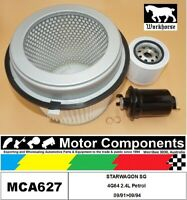 FILTER SERVICE KIT for MITSUBISHI  STARWAGON SG 4G64 2.4L Petrol 09/91>09/94