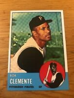 1963 Topps Reprint #540 Roberto Bob Clemente Pittsburgh Pirates Card MINT RP
