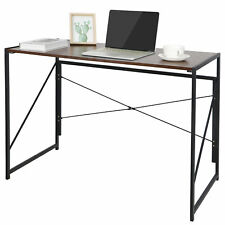 Home Office Computer Desk Writing Modern Simple Study Industrial Style Folding