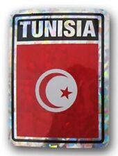 Tunisia Country Flag Reflective Decal Bumper Sticker