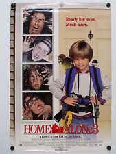"HOME ALONE 3 - Alex D. Linz - Original Movie Poster - 1997 Rolled DS ""F"" C9"