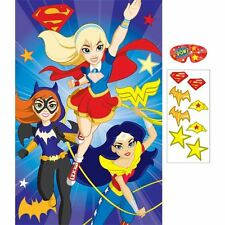 DC super hero Chicas Fiesta Juego (igual que la cola al burro Pin)