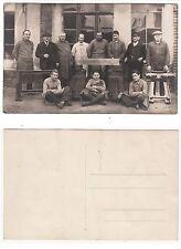 Modellfabrik  Garbsch & Co. Schreiner Tischler  carpenter workshop RPPC um 1910