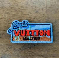 Brand New Louis Vuitton Explorer Iron On  Miniature Patch Luxury NWT