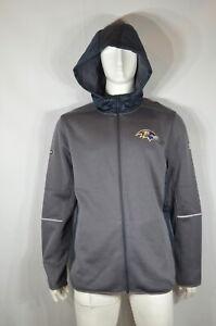 Under Armour NFL Ravens Men's Onfield Jacket 2XL Combine Authentic NWT