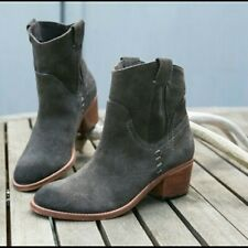 Dolce Vita Graham Suede Bootie Ankle Boot Size 6 Western $190
