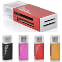 GN- USB 2.0 Multi for MS DUO SDHC Memory Card Reader TF/M2/MMC All in 1 Micro SD