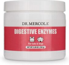 Dr Mercola Healthy Pets Digestive Enzymes for Pets 150g for Cats & Dogs
