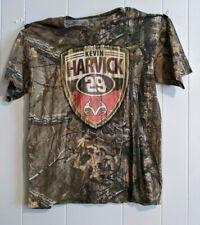 Kevin Harvick #29 T-shirt Realtree Outfiters Camo Nascar Large