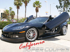 2005-13 Corvette C6 Carbon Fiber Side Skirts + Splash Guard Convertible Vette