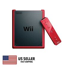Nintendo Wii Mini Red with Compatible Controller