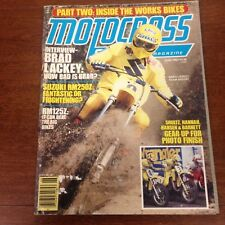 MOTOCROSS ACTION JUNE 1982 YZ125 G MIKE BELL TRANS AMA FACTORY TEAMS VINTAGE VMX