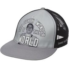 New WWE WWF Andre the Giant Snapback Trucker Cap Hat Black Gray