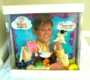 1993- McDONALD'S HAPPY MEAL STORE DISPLAY-TY TEENIE BEANIE BABIES- N.MINT TOY